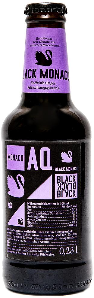 Black Monaco Лимонад на основе природной минеральной воды, со вкусом колы, 230 мл
