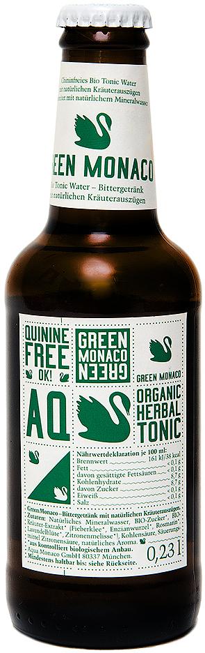 Tonic Bio Green Monaco Био-тоник на основе природной минеральной воды и трав, 230 мл растишка йогурт густой яблоко груша с печеньем 3