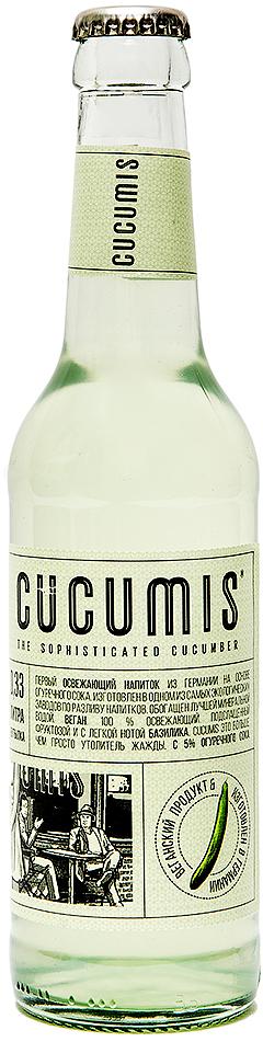 Cucumis Cucumber vegan-лимонад огуречный, 330 мл. интимная косметика system jo массажный гель масло all in one massage oil cucumber огуречный
