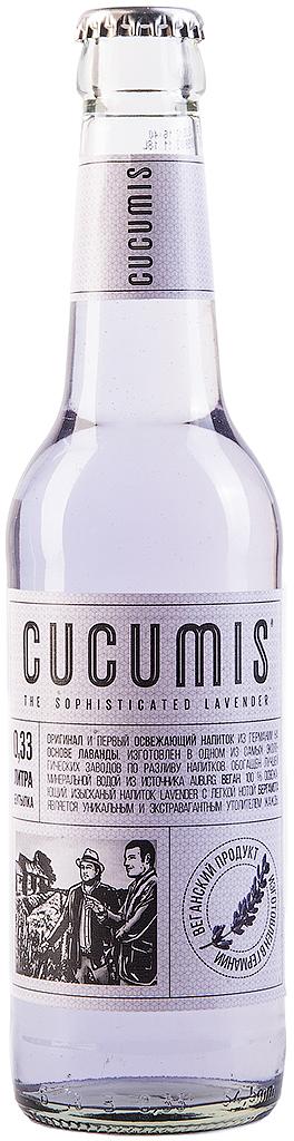 Cucumis Lavender vegan-лимонад на основе лаванды с бергамотом, 330 мл.