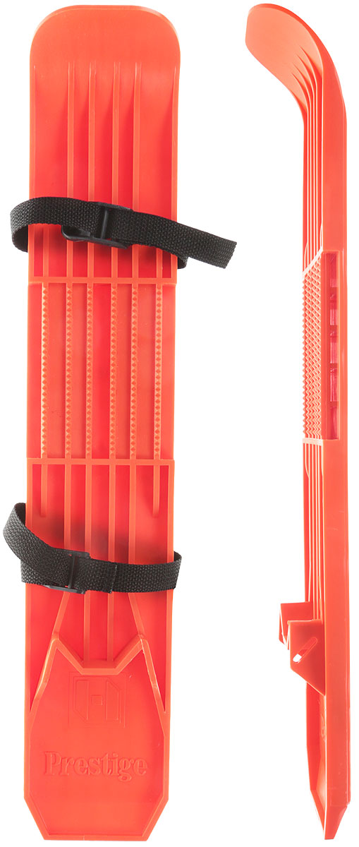Мини-лыжи Престиж, цвет: оранжевый7380_оранжевыйМини-лыжи Престиж, выполненные из прочного пластика, отлично подойдут для катания детей в зимнее время года. Лыжи имеют насечку на скользящей поверхности и крепятся к обуви при помощи текстильных ремней с пластиковыми пряжками.Каждый ребенок, любящий проводить время на улице, будет рад мини-лыжам. Активные игры в мини-лыжах порой бывают гораздо интереснее, чем санки. А если ребенок старше пяти-шести лет, то можно на мини-лыжах кататься и с горок, но лучше со снежных и невысоких. Размер лыжи: 53 х 9,5 см.
