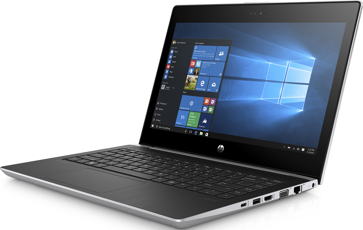 HP Probook 430 G5, Pike Silver (2SX96EA)522705Функциональный тонкий и легкий ноутбук HP ProBook 430 позволяет работать продуктивно как в офисе, так и за его пределами. ProBook сочетает стильный дизайн, точные линии и изящные изгибы с производительностью процессора и длительным временем автономной работы, что делает его незаменимым решением.Возможность подключения дополнительной док-станции с помощью кабеля USB-C позволяет превратить ноутбук в полноценное рабочее место, присоединив несколько внешних дисплеев, источник питания и сетевой кабель.Многофакторная проверка подлинности, включающая считывание отпечатков пальцев и распознавание лиц, надежно защитит ваши данные.Всегда будьте на связи благодаря беспроводной технологии драйверов с автоматическим восстановлением и поддержкой технологии беспроводной широкополосной связи 4G LTE.Ноутбук сертифицирован EAC и имеет русифицированную клавиатуру и Руководство пользователя