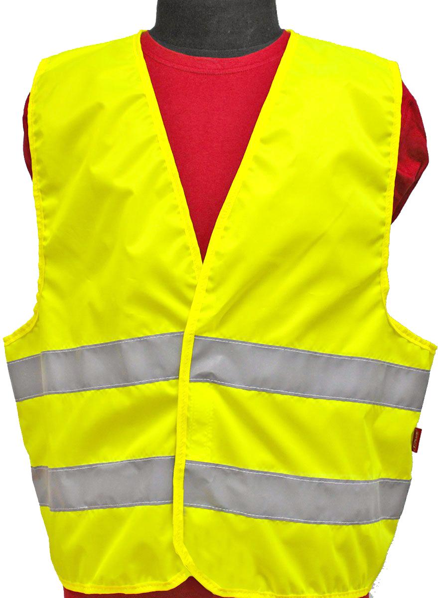 Жилет светоотражающий Tplus, класс защиты 2. Размер 48-50T010394Жилеты сигнальные (светоотражающие) способствуют повышению безопасности сотрудника на производстве и снижению риска травматизма на дорогах посредством визуального обозначения человека днем и обеспечения его видимости в темноте.Размер: 48-50Материал: оксфорд 210 Сигнал 150 гр\м2Цвет: лимонШирина световозвращающей ленты: 50 ммТип фиксации: двухсторонняя липучкаСоответсвует ГОСТ 12.4.281-2014Класс защиты: 2 (повышенной видимости)