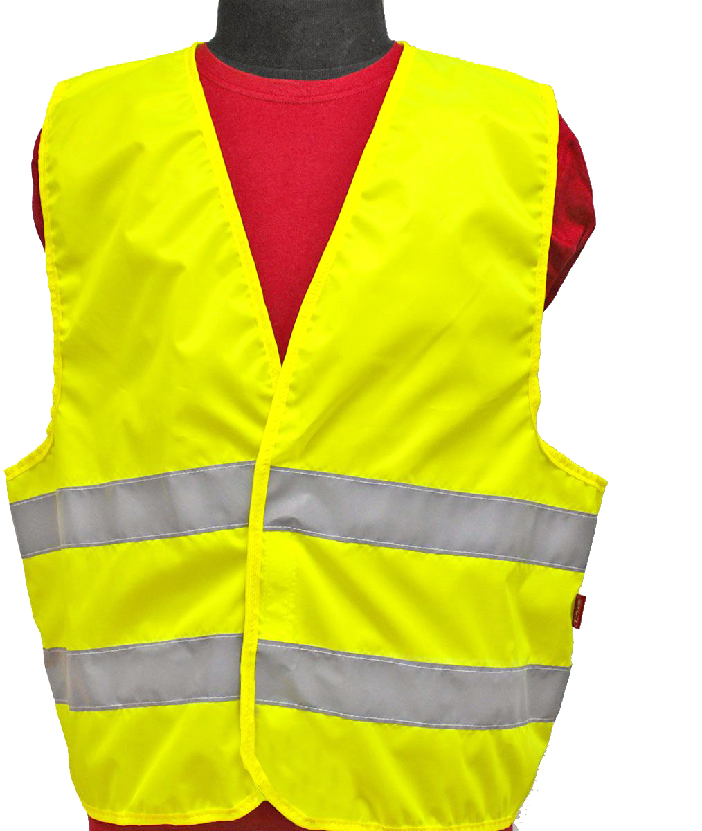 Жилет светоотражающий Tplus, класс защиты 2. Размер 56-58T010396Жилеты сигнальные (светоотражающие) способствуют повышению безопасности сотрудника на производстве и снижению риска травматизма на дорогах посредством визуального обозначения человека днем и обеспечения его видимости в темноте.Размер: 56-58 Материал: оксфорд 210 Сигнал 150 гр\м2 Цвет: лимон Ширина световозвращающей ленты: 50 мм Тип фиксации: двухсторонняя липучка Соответсвует ГОСТ 12.4.281-2014 Класс защиты: 2 (повышенной видимости)
