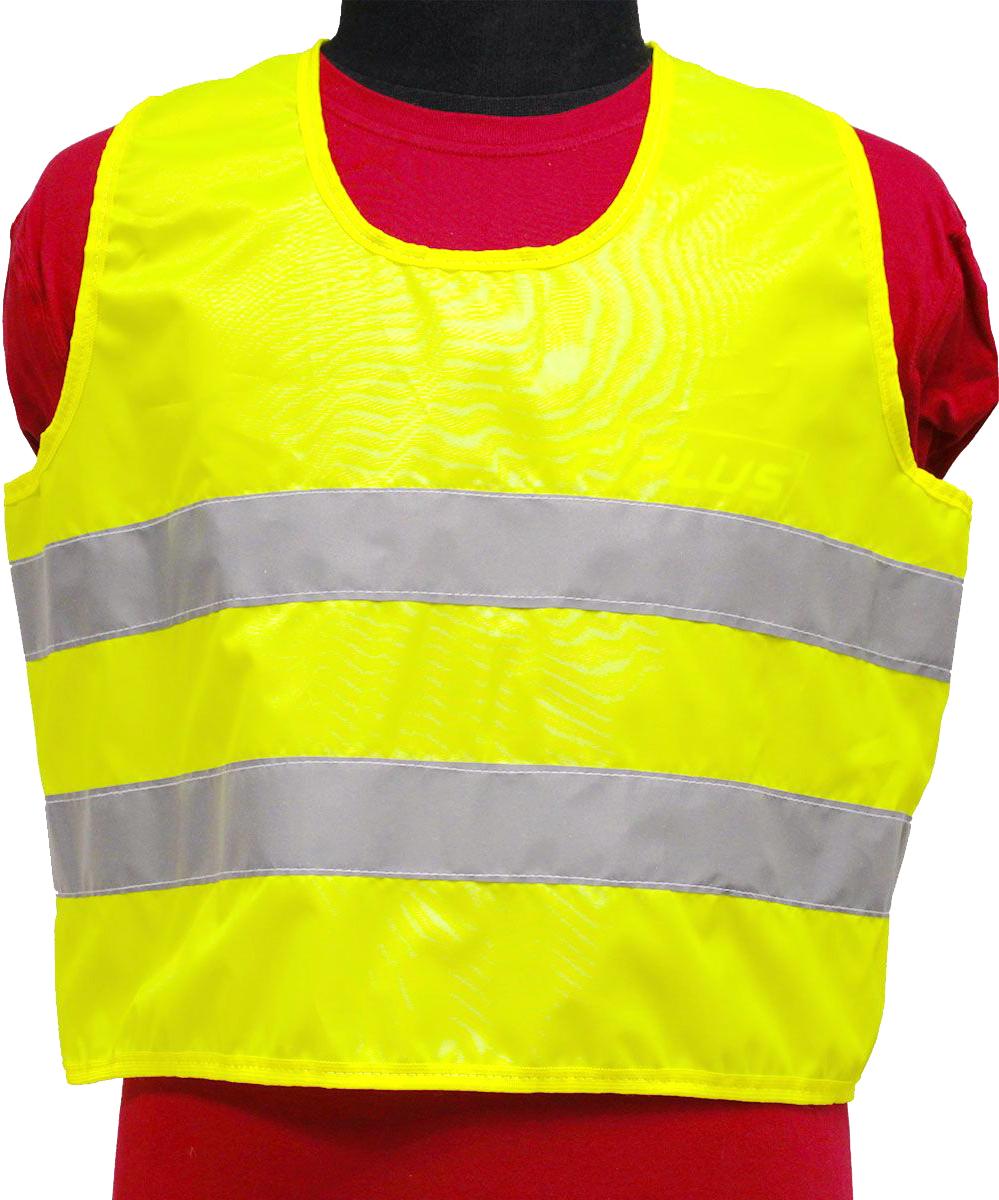 Жилет светоотражающий Tplus, детский, цвет: желтый, возраст 3-6 летT010397Жилеты сигнальные (светоотражающие) способствуют повышению безопасности посредством визуального обозначения днем и обеспечения видимости в темноте.Размер: для детей от 3 до 6 лет Материал: оксфорд 210 Сигнал 150 гр\м2 Цвет: лимон Ширина световозвращающей ленты: 50 мм Световозвращающие полосы изготовлены по ГОСТ