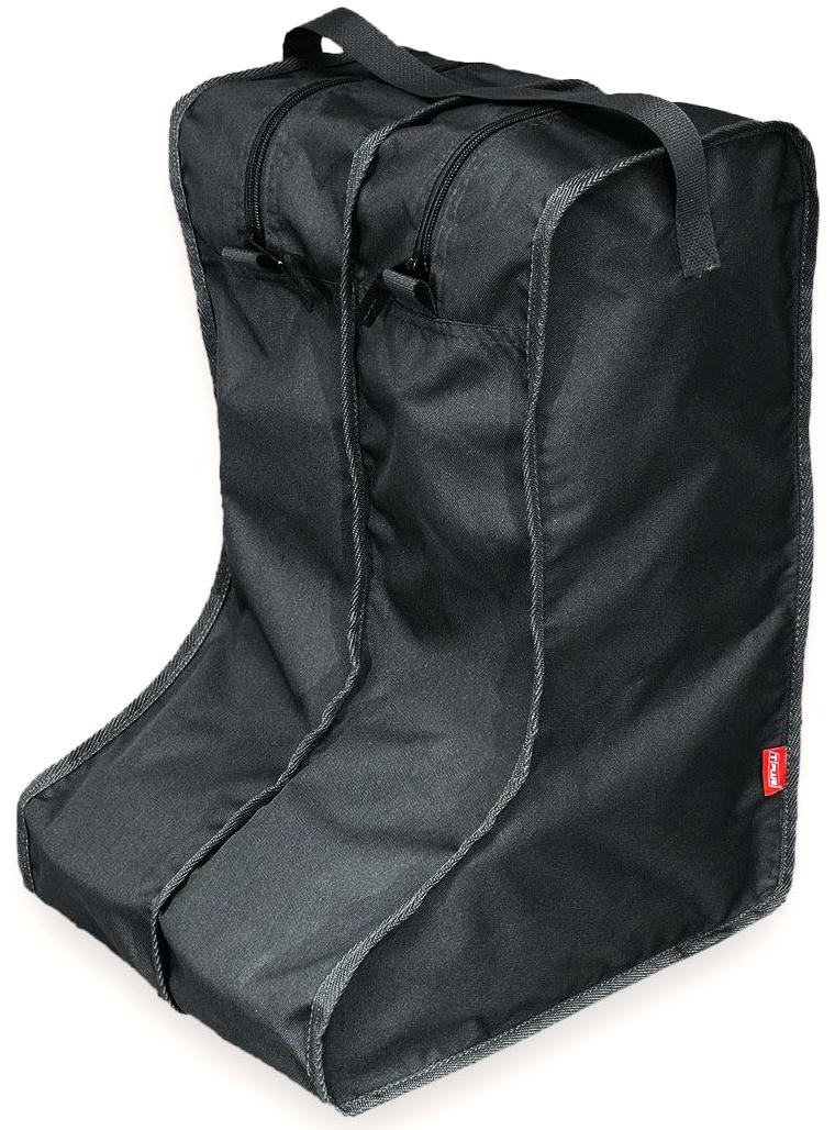 Чехол для сапог Tplus, цвет: черный. Размер 42-47. T014127T014127Каждый сапог помещается в отдельную секцию на молнии, в одном органайзере - одна пара обуви.Эстетично и практично!