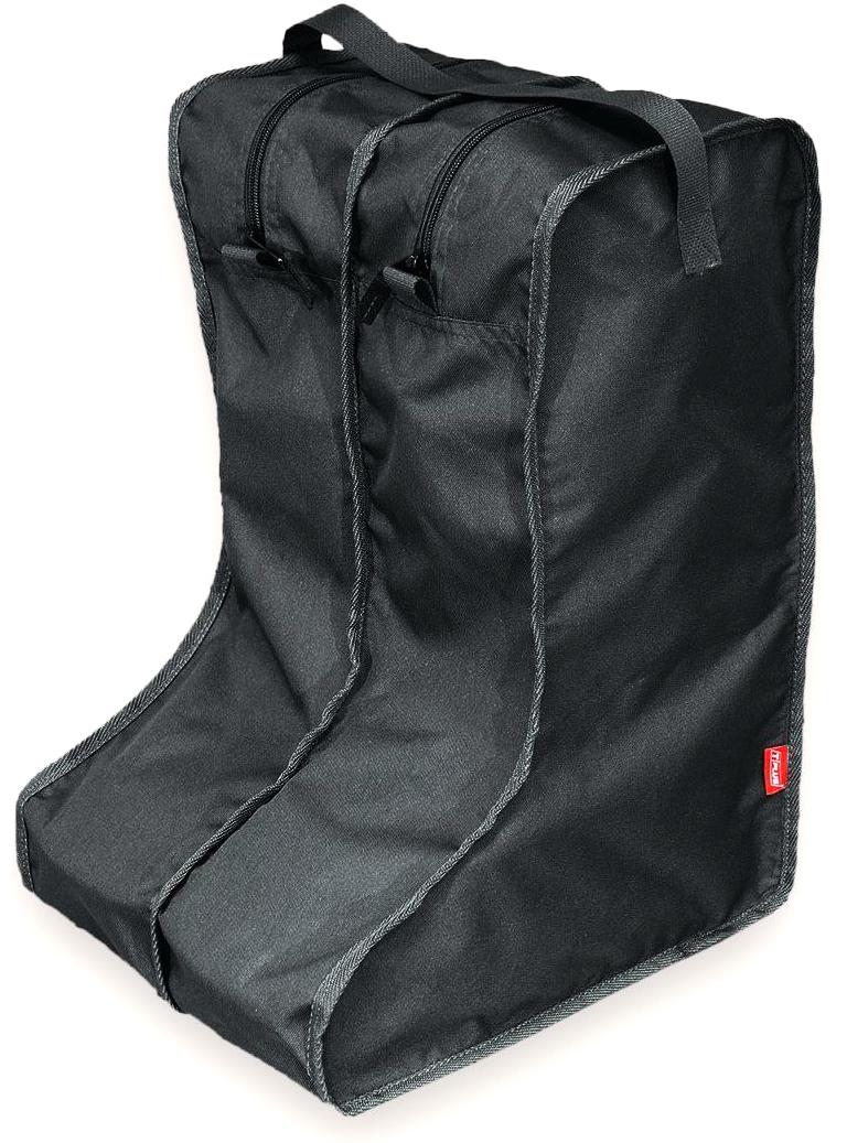 Чехол для сапог Tplus, цвет: черный. Размер 42-47. T014130T014130Каждый сапог помещается в отдельную секцию на молнии, в одном органайзере - одна пара обуви.Эстетично и практично!