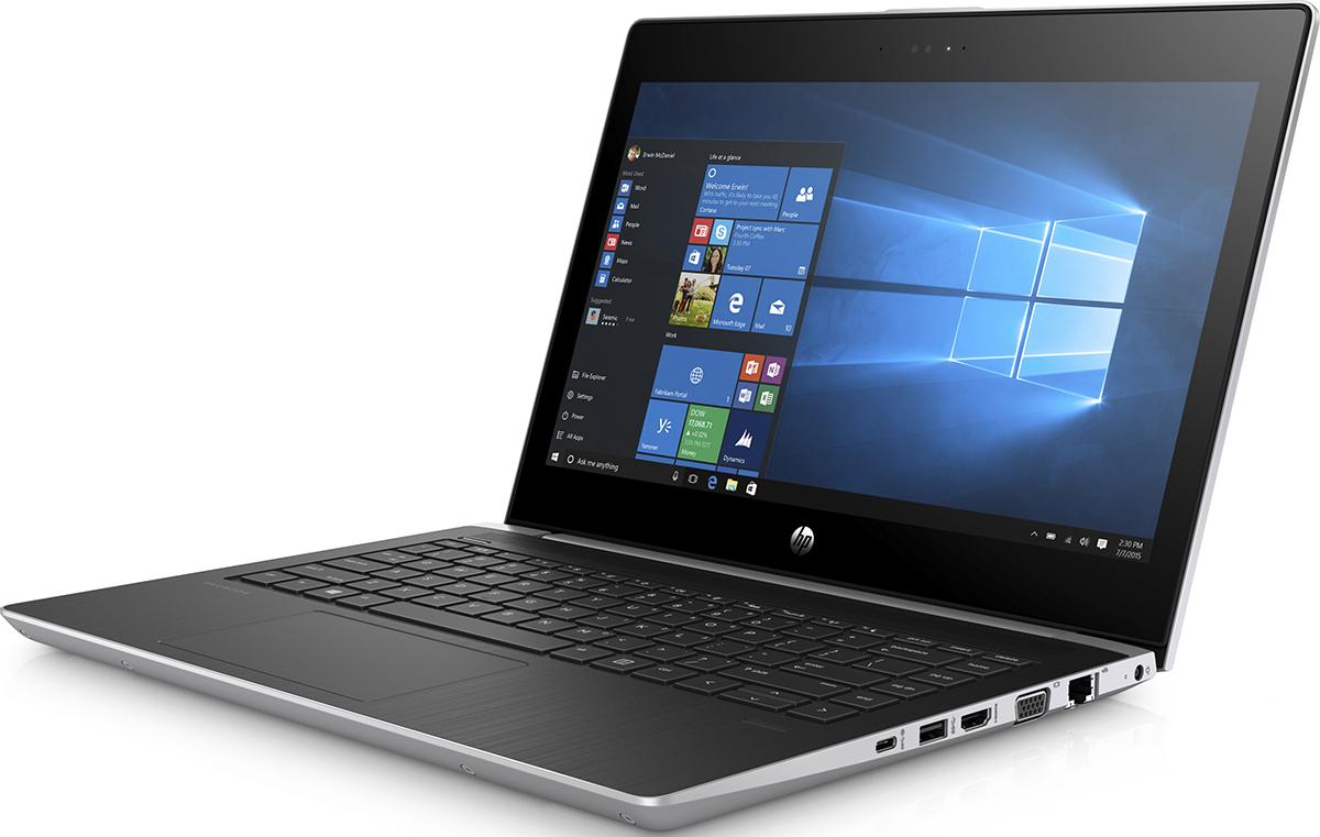 HP Probook 430 G5, Pike Silver (2SY16EA)522707Функциональный тонкий и легкий ноутбук HP ProBook 430 позволяет работать продуктивно как в офисе, так и за его пределами. ProBook сочетает стильный дизайн, точные линии и изящные изгибы с производительностью процессора и длительным временем автономной работы, что делает его незаменимым решением.Возможность подключения дополнительной док-станции с помощью кабеля USB-C позволяет превратить ноутбук в полноценное рабочее место, присоединив несколько внешних дисплеев, источник питания и сетевой кабель.Многофакторная проверка подлинности, включающая считывание отпечатков пальцев и распознавание лиц, надежно защитит ваши данные.Всегда будьте на связи благодаря беспроводной технологии драйверов с автоматическим восстановлением и поддержкой технологии беспроводной широкополосной связи 4G LTE.Ноутбук сертифицирован EAC и имеет русифицированную клавиатуру и Руководство пользователя