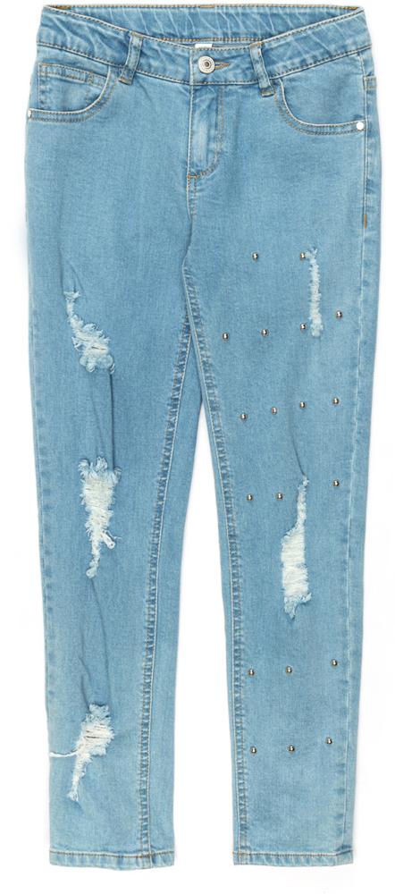 Джинсы для девочки Acoola Dwarf, цвет: синий. 20210160130_500. Размер 140