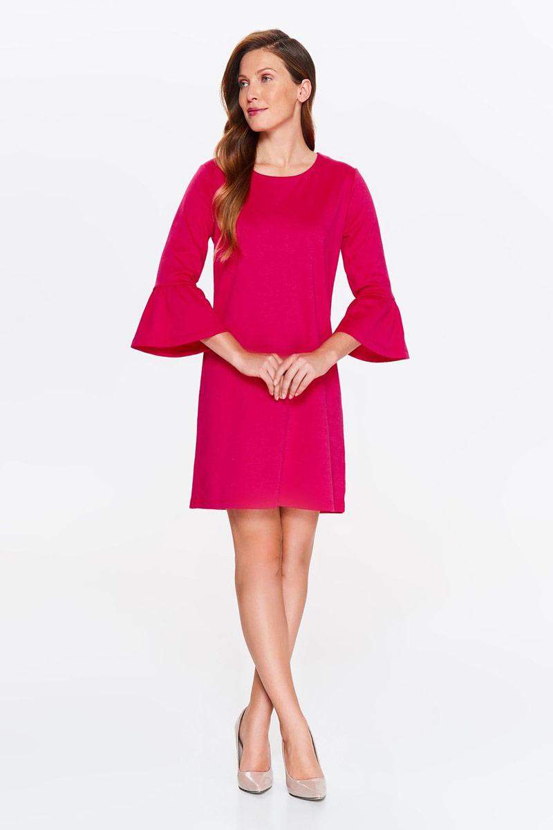 Платье Top Secret, цвет: розовый. SSU2065RO. Размер 38 (46)SSU2065ROПлатье Top Secret выполнено из высококачественного материала. Модель с круглым вырезом горловины отлично дополнит ваш гардероб.
