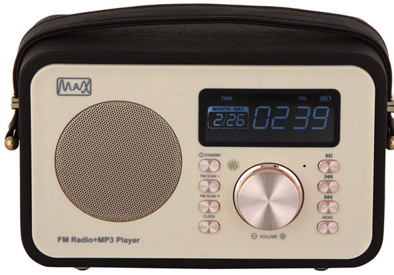 MAX MR-350, Gold портативный радиоприемник - Магнитолы, радиоприемники