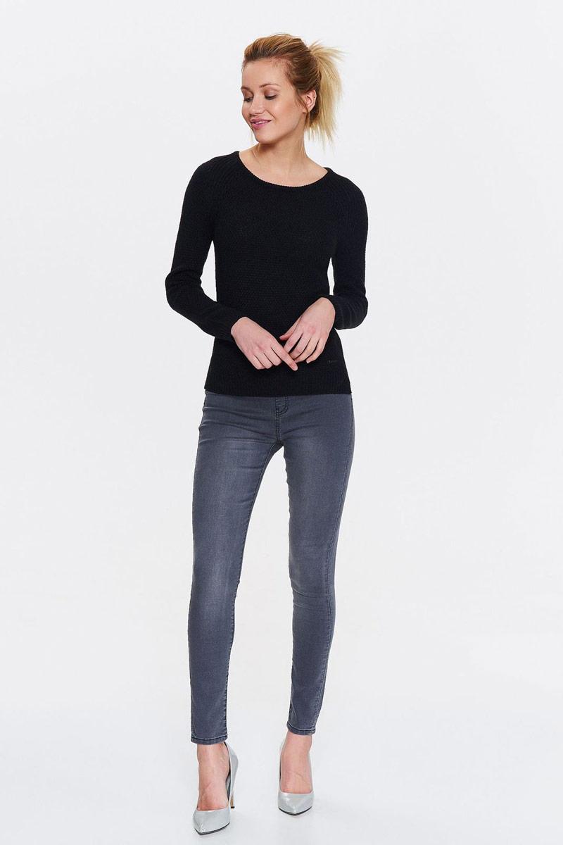 Свитер женский Top Secret, цвет: черный. SSW2254CA. Размер 42 (50) свитер женский artka yb14740q 2015