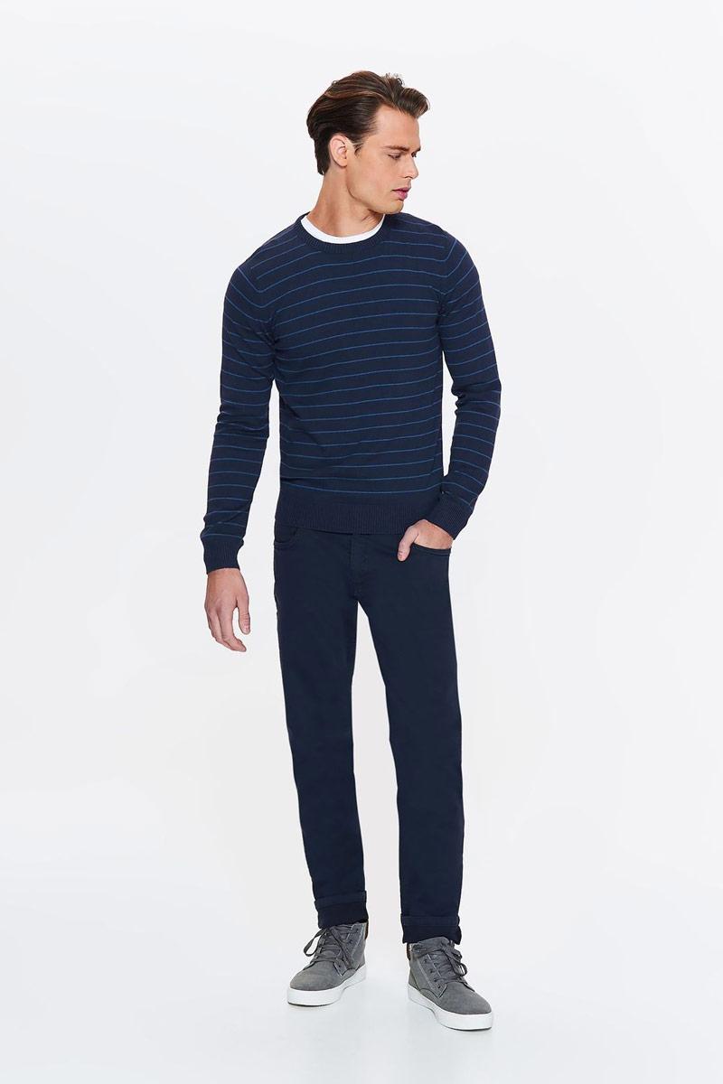 Свитер мужской Top Secret, цвет: темно-синий. SSW2256GRS. Размер XL (50) футболка мужская top secret цвет темно синий spo3354gr размер xl 50
