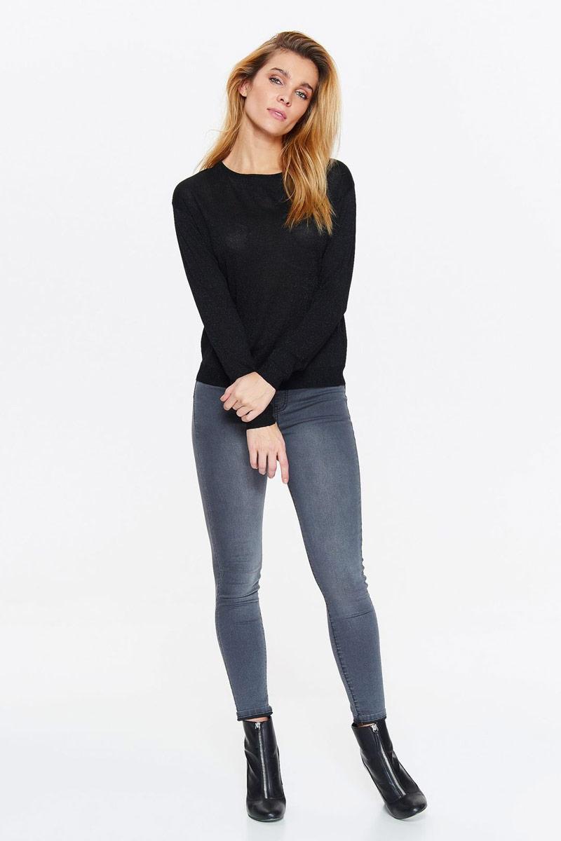 Свитер женский Top Secret, цвет: черный. SSW2263CA. Размер 42 (50) свитер quelle top secret 1018928