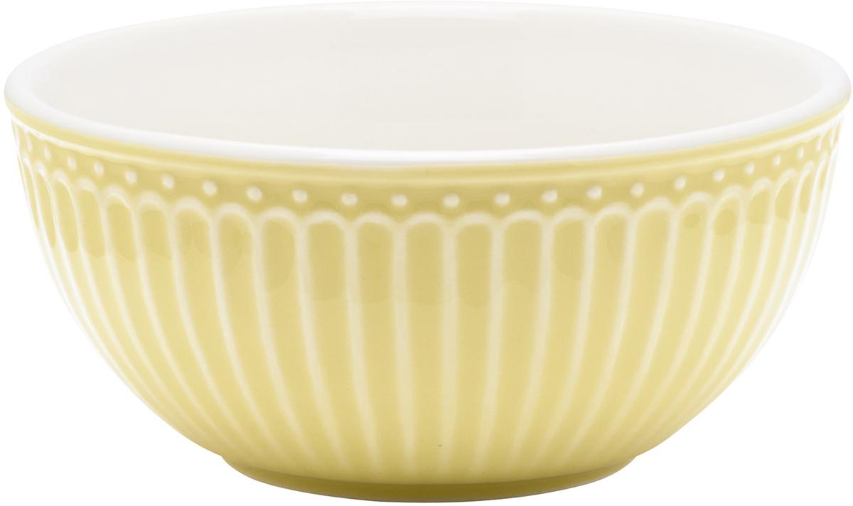 Пиала Alice, цвет: желтый, диаметр 14 смSTWCERAALI4906GreenGate- это широко известная во всем мире компания, которая с 2001 года производит потрясающую по красотеколлекционнуюфарфоровую посуду.