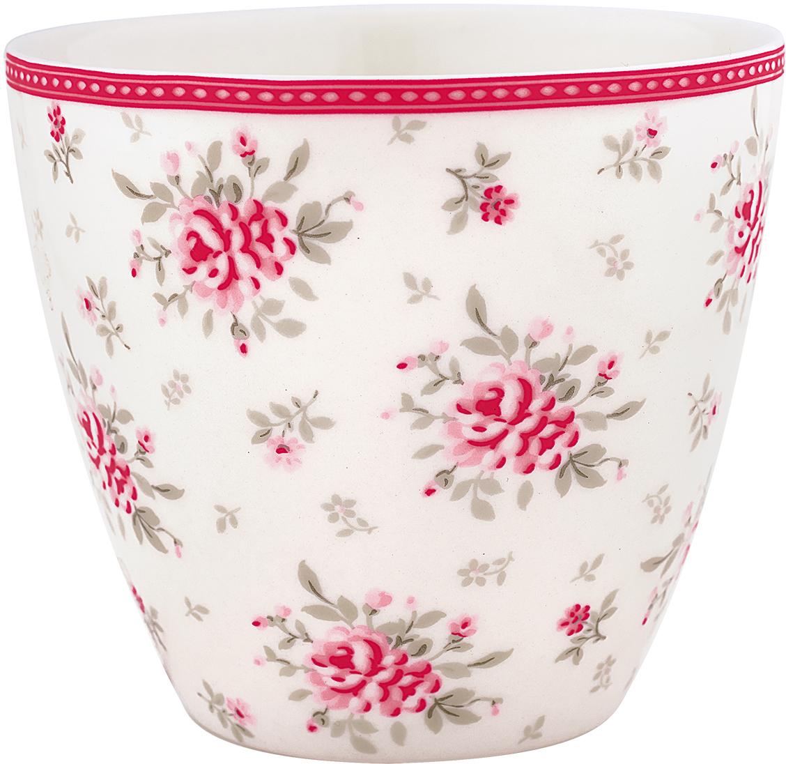 Стакан Flora white, 300 мл41270SLBGreenGate- это широко известная во всем мире компания, которая с 2001 года производит потрясающую по красотеколлекционнуюфарфоровую посуду.