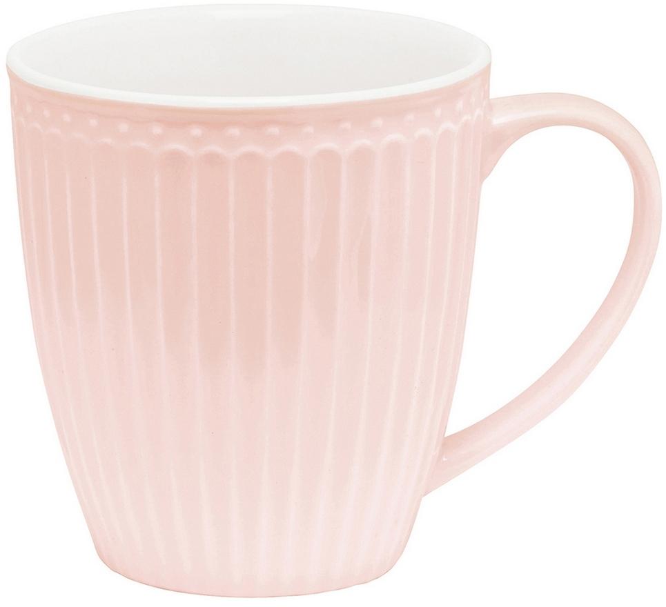 Кружка Alice, цвет: розовый, 300 млSTWMUGAALI1906GreenGate- это широко известная во всем мире компания, которая с 2001 года производит потрясающую по красотеколлекционнуюфарфоровую посуду.