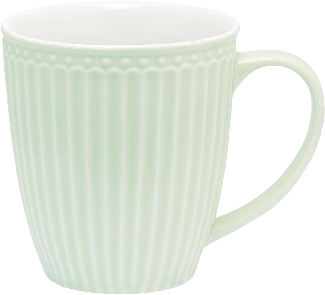 Кружка Alice, цвет: зеленый, 300 млSTWMUGAALI3906GreenGate- это широко известная во всем мире компания, которая с 2001 года производит потрясающую по красотеколлекционнуюфарфоровую посуду.