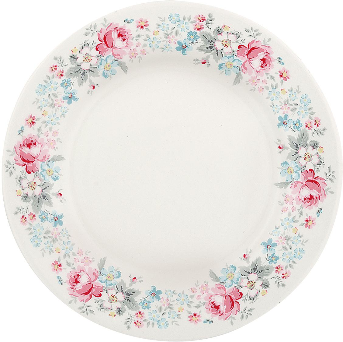 Тарелка Marie pale grey, диаметр 20,5 смSTWPLAMAR8506GreenGate- это широко известная во всем мире компания, которая с 2001 года производит потрясающую по красотеколлекционнуюфарфоровую посуду.