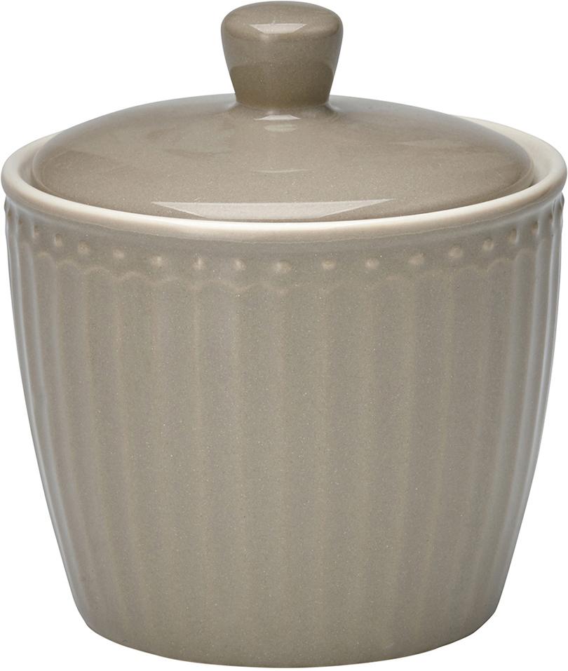 Сахарница Alice, цвет: серыйSTWSUGAALI8306GreenGate- это широко известная во всем мире компания, которая с 2001 года производит потрясающую по красотеколлекционнуюфарфоровую посуду.