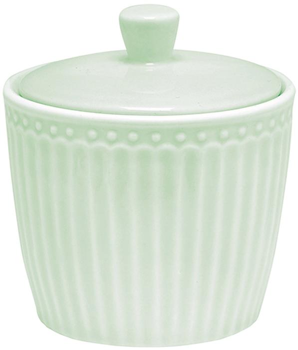 Сахарница Alice, цвет: зеленыйSTWsugali3906GreenGate- это широко известная во всем мире компания, которая с 2001 года производит потрясающую по красотеколлекционнуюфарфоровую посуду.