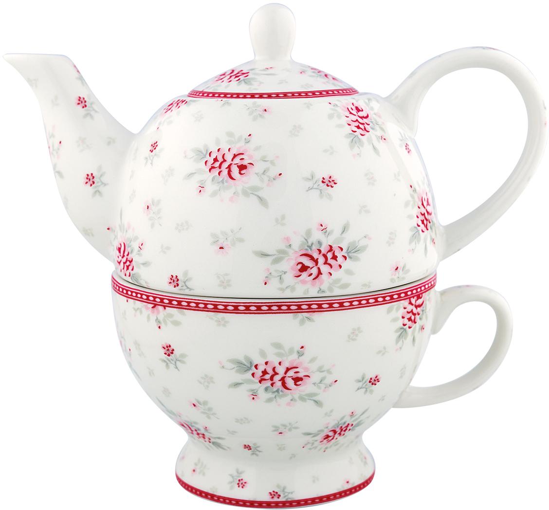 Чайник заварочный Flora whiteSTWTEFFLO0102GreenGate- это широко известная во всем мире компания, которая с 2001 года производит потрясающую по красотеколлекционнуюфарфоровую посуду.