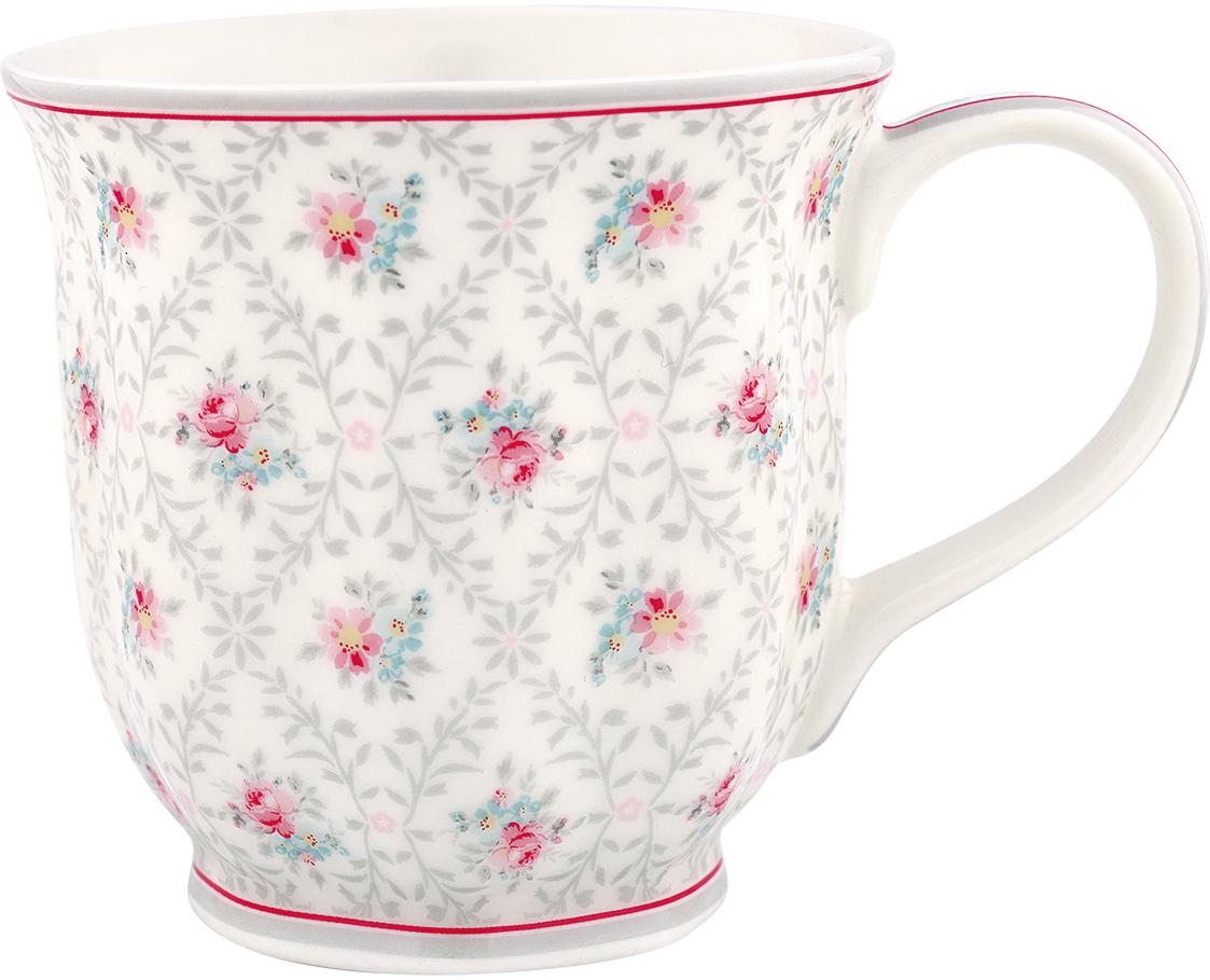 Чашка чайная Greengate Daisy, 400 млSTWTEMDAI8506GreenGate- это широко известная во всем мире компания, которая с 2001 года производит потрясающую по красотеколлекционную посуду.