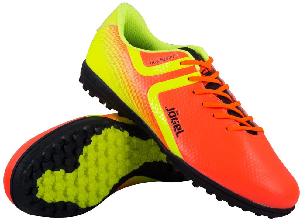 Бутсы многошиповые детские Jogel Rapido, цвет: оранжевый. JSH3001-Y. Размер 40 бутсы футбольные мужские jogel rapido цвет синий jsh1001 размер 45