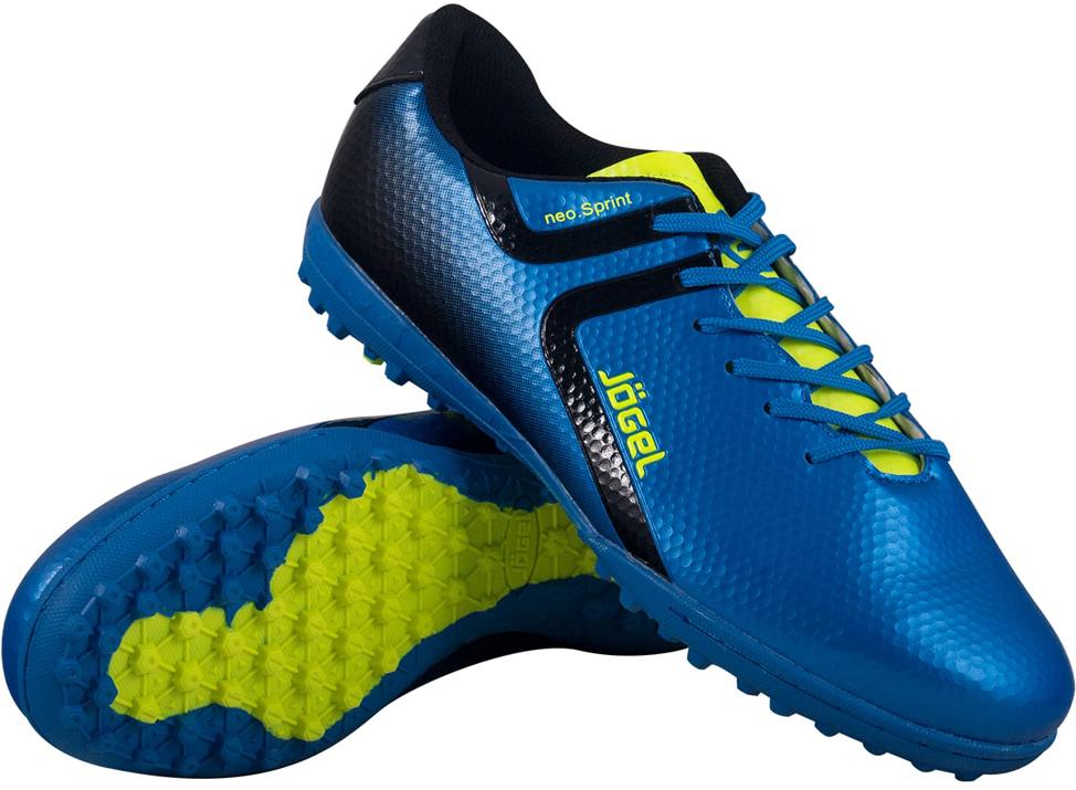 Бутсы многошиповые мужские Jogel Rapido, цвет: синий. JSH3001. Размер 45 бутсы футбольные мужские jogel rapido цвет синий jsh1001 размер 45