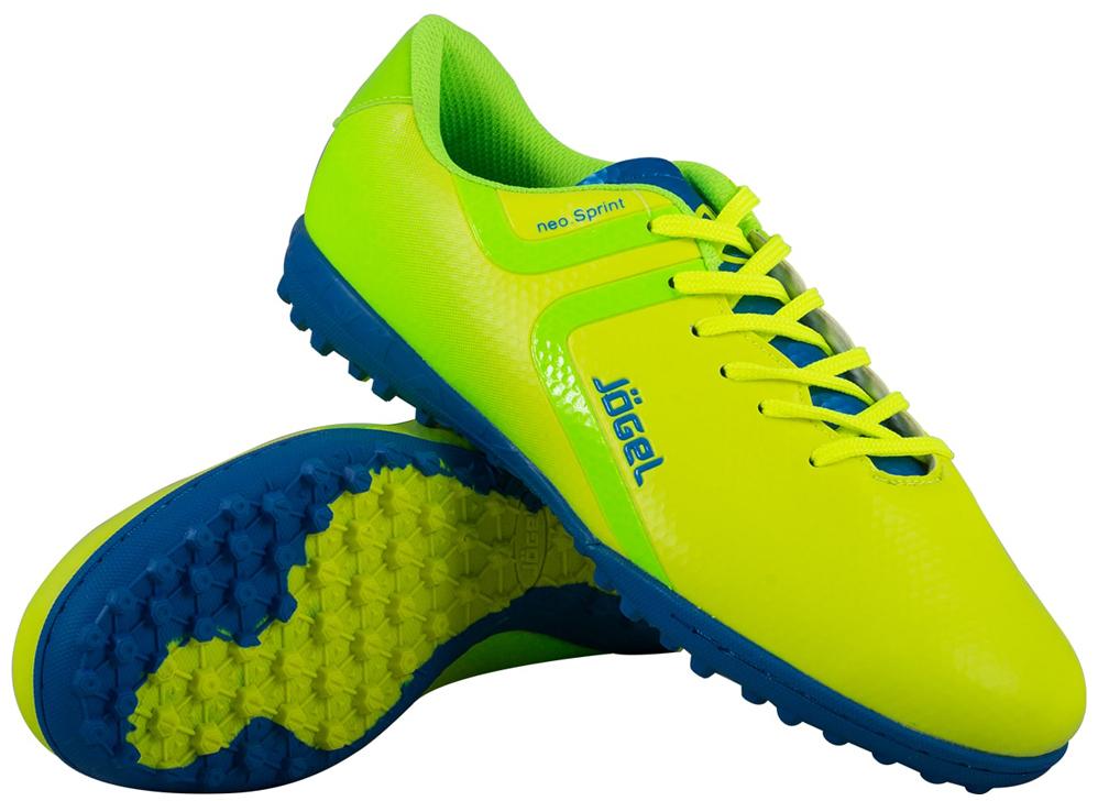 Бутсы многошиповые мужские Jogel Rapido, цвет: лимонный. JSH3001. Размер 45 бутсы футбольные мужские jogel rapido цвет синий jsh1001 размер 45