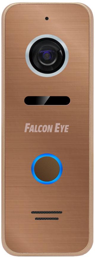 Falcon Eye FE-ipanel 3, Bronze вызывная панель видеопанель falcon eye fe ipanel 2 цветная накладная серебристый