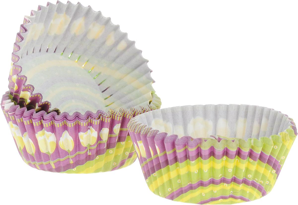 Набор форм для выпечки Menu, 4 х 2,8 см, цвет: желтый, зеленый, фиолетовый, 50 штVPK-04_желтый,зеленый, фиолетовыйФормы для выпечки Menu, изготовлены из плотной пергаментной бумаги с ярким рисунком. Вкомплекте 50 форм.Если вы любите побаловать своих домашних вкусным и ароматным угощением по вашемуоригинальному рецепту, то формы Menu как раз то, что вам нужно!Размер формы: 4 х 2,8 см.