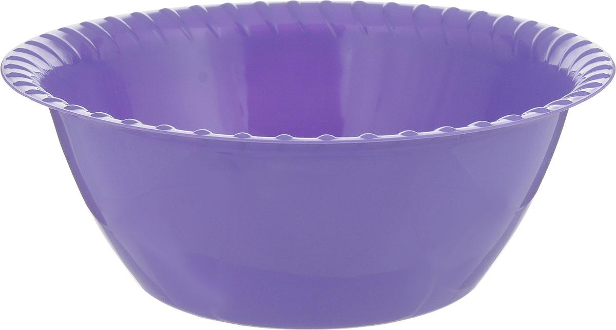 Миска-салатница Мартика, большая, цвет: сиреневый, 2,5 л. С43С43_сиреневыйМиска-салатница глубокая Мартика изготовлена из качественного пластика.