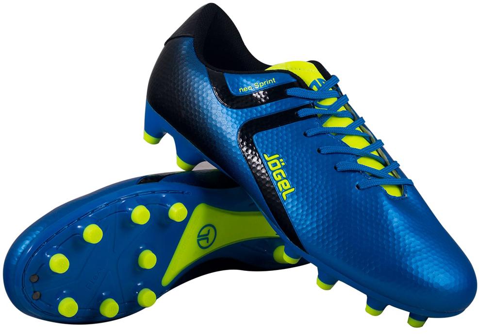 Бутсы футбольные детские Jogel Rapido, цвет: синий. JSH1001-Y. Размер 38 бутсы футбольные мужские jogel rapido цвет синий jsh1001 размер 45