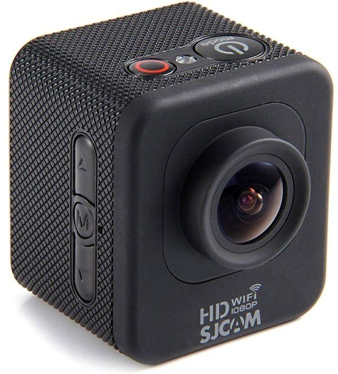 SJCAM M10 WiFi, Black экшн-камераSJCAM M10WIFI;SJCAM M10WIFIНе смотря на свой, казалось бы, очень маленький размер, SJCAM M10 Wi-Fi как впрочем и другие камеры, имеет 1.5 LCD touch дисплей, накотором вы можете видеть все то что вы снимаете и то что уже отсняли. Меню же очень грамотно подогнано под размер камеры и является такимже интуитивно понятным и простым. И уже через 5 минут пользования вы будете знать все функции вашей камеры, и как они регулируются. При приемлемой стоимости SJCAM M10 так же получила незаменимую функцию Wi-Fi, что позволит с легкостью управлять вашей камерой спомощью телефона. Водонепроницаемый бокс входит в комплект SJCAM M10 Wi-Fi и позволяет записывать яркие кадры подводной съемки. Выможете, не беспокоится и за ударопрочность, так как данный бокс выдерживает очень высокие нагрузки. Несмотря на бюджетный сегмент,камера может похвастаться возможностью записи видео, вплоть до 1920 х 1080 точек при 30 кадров/сек. Для любителей замедленной съемкидоступен режим с 60 кадров/сек с разрешением 1280 х 720 и 848 х 480 точек.Наличие встроенного модуля WIFI дает возможность легко управлять экшн-камерой даже на расстоянии до десяти метров, а так же транслировать изображение на экран вашего мобильно устройства и скачивать отснятые фото и видео материалы напрямую на. Для этого будет нужно просто скачать и установить специальное приложение SJCAM ZONE, подходящее для операционных систем Android и IOS.