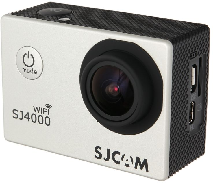 SJCAM SJ4000 Wi-Fi, Silver экшн-камера