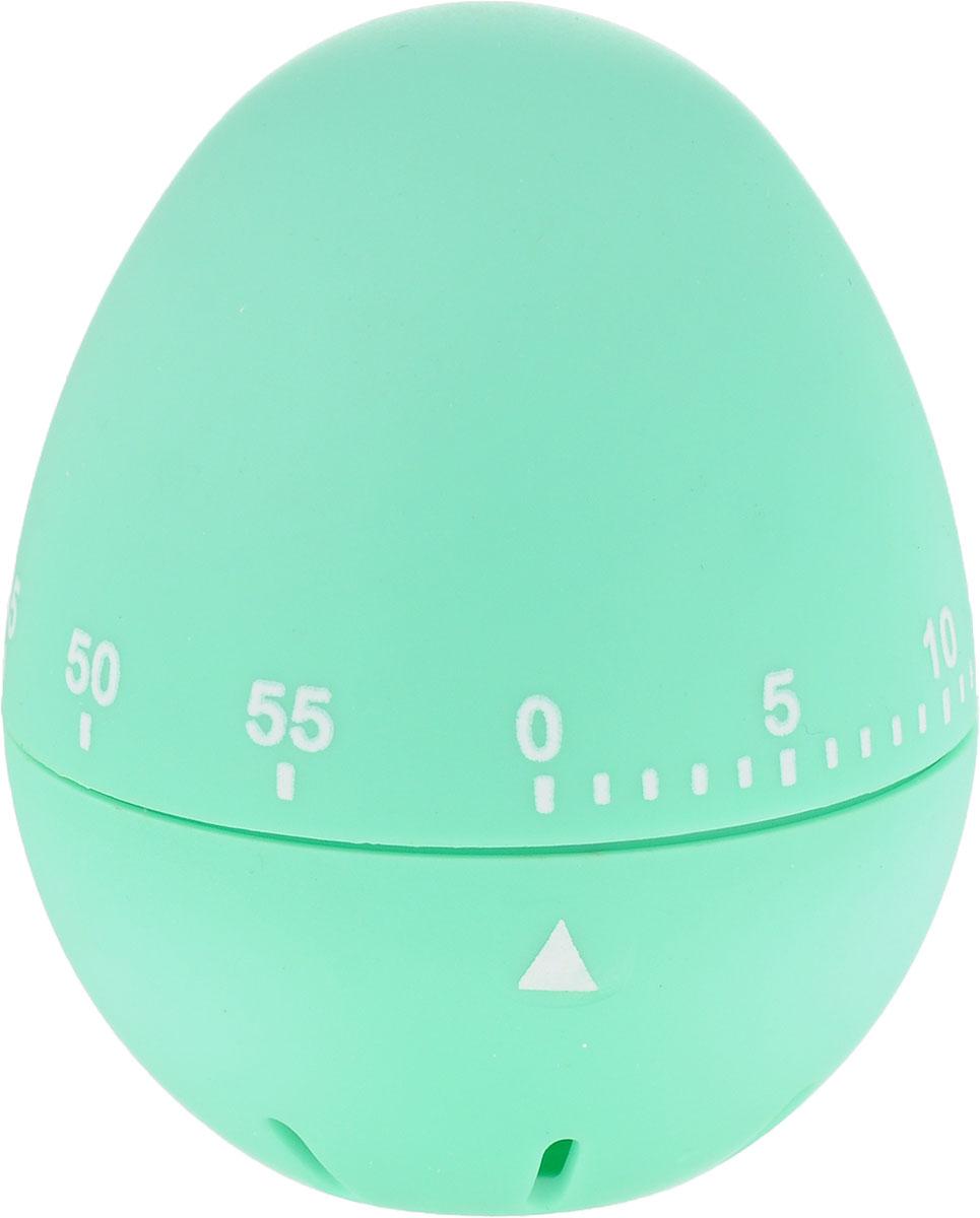 Таймер Menu Шалтай, цвет: светло-зеленыйSHA-02_зеленТаймер Menu Шалтай изготовлен из пищевого пластика со специальным приятным на ощупьпокрытием. Предназначен для измерения времени при приготовлении блюд. Механизм таймерапозволяет выставлять время от 1 до 60 минут. Инструкция: для заводки таймера необходимосначала повернуть его верхнюю часть до упора (60 мин), а затем повернуть в обратную сторону донужного вам времени. По окончании выбранного времени таймер зазвенит. В случае загрязнения таймер необходимо протереть влажной мягкой тканью. Изделиепредназначено для домашнего использования.