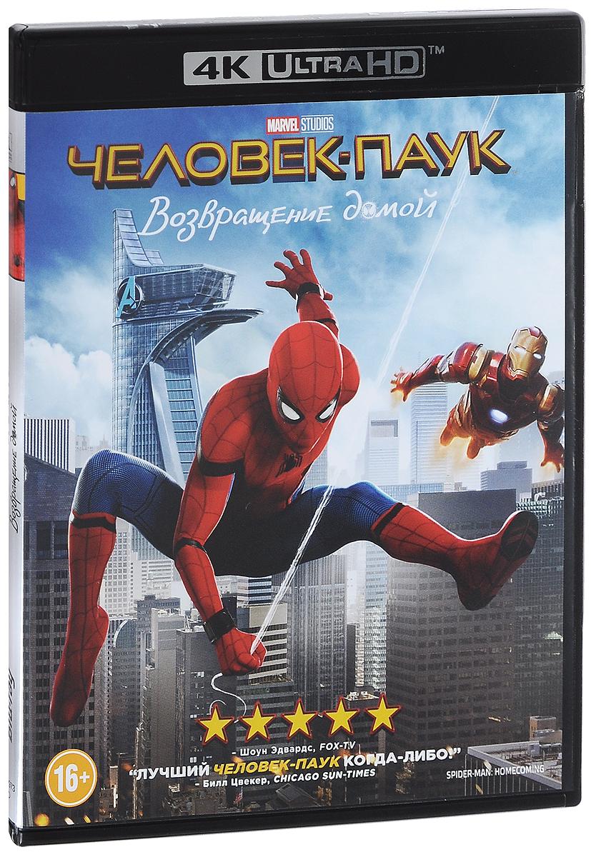 Человек-Паук: Возвращение домой (4K UHD Blu-ray) uhd blu ray плеер samsung ubd m8500