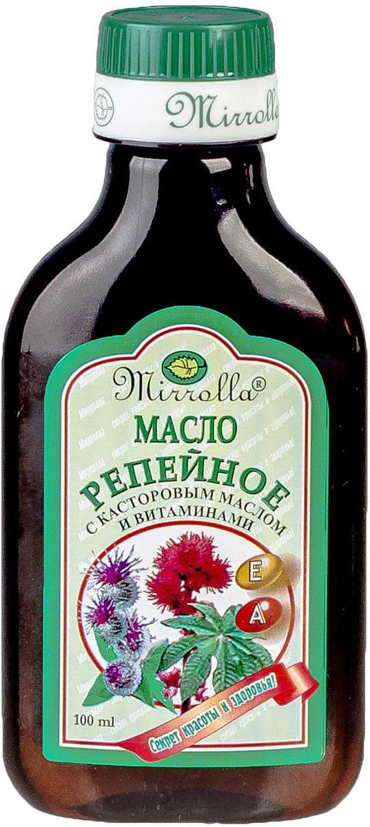 Репейное масло с касторовым маслом и витаминами А, Е 100мл корни корни новое и лучшее