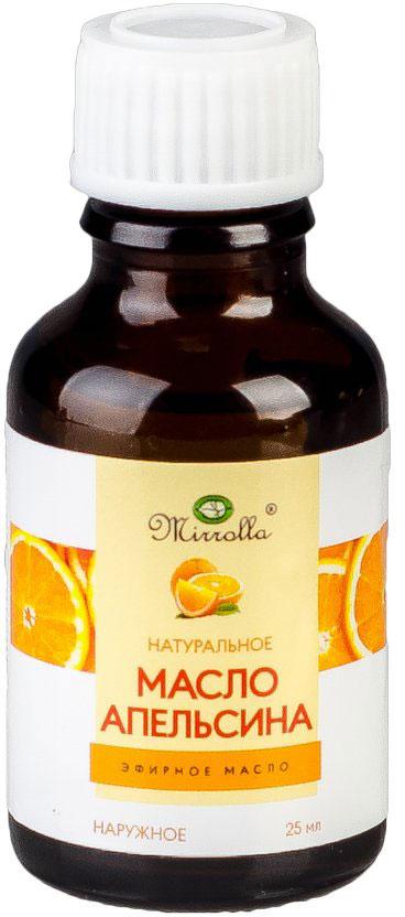 Масло эфирное Мирролла Апельсин 25 мл4650001791160Эфирное масло Апельсин - помогает бороться с целлюлитом; обладает разглаживающим, тонизирующим и отбеливающим действием; укрепляет структуру волос, способствует их росту.Уважаемые клиенты!Обращаем ваше внимание на возможные изменения в дизайне упаковки. Качественные характеристики товара остаются неизменными. Поставка осуществляется в зависимости от наличия на складе.Краткий гид по парфюмерии: виды, ноты, ароматы, советы по выбору. Статья OZON Гид