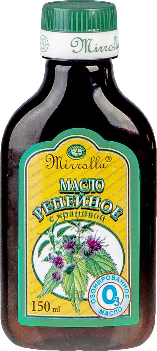Мирролла Репейное масло с крапивой, озонированное, 150 мл масло репейное с крапивой 100мл