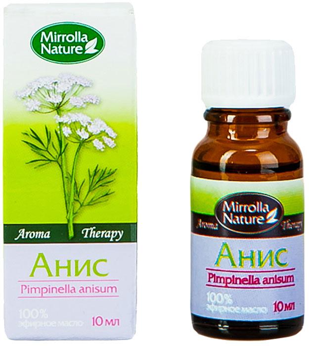 Мирролла Масло аниса, 10 мл4650001790132Повышает упругость кожи, делает ее более эластичной; нормализует гидролипидный слой эпидермиса; ускоряет регенерацию клеток кожи; укрепляет волосы, помогает бороться с перхотью. Аромат пикантный, похож на запах лакричника, очень теплый