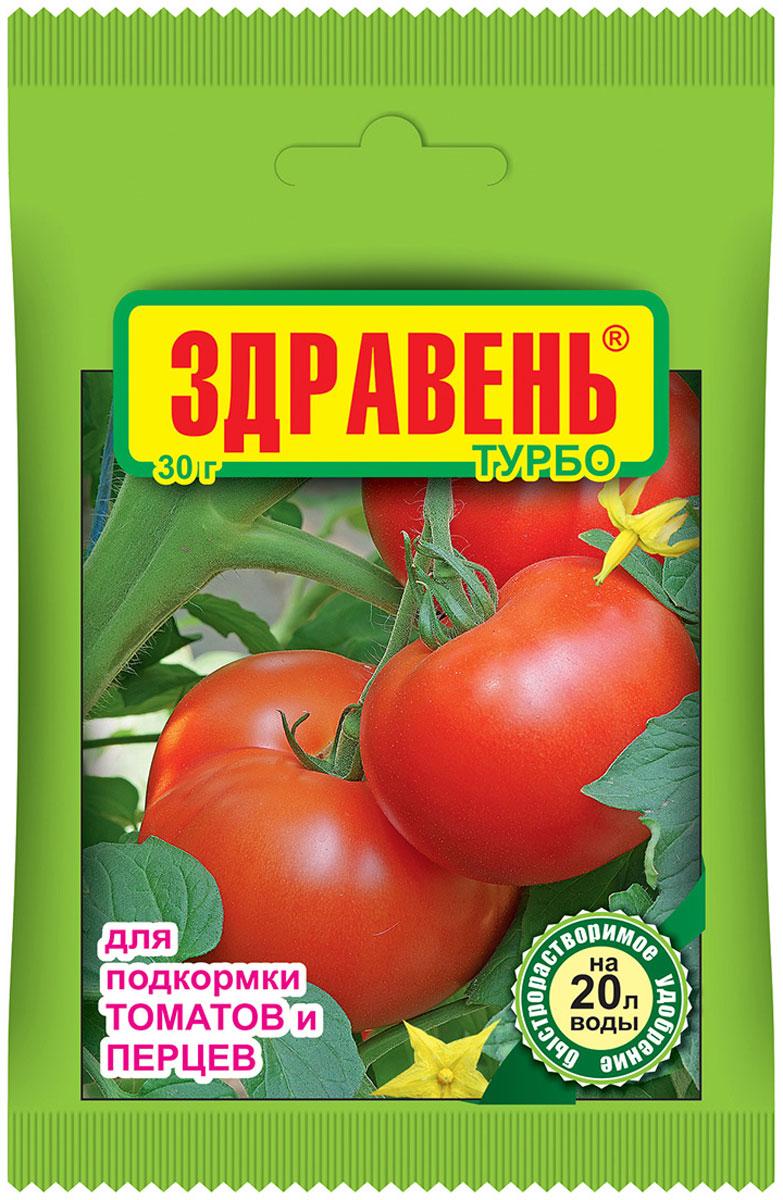 Удобрение Здравень Турбо, для подкормки томатов и перцев, 30 гbi-vh0037Увеличивает число завязей и плодов, стимулирует корневую систему, ускоряет сроки развития растений, значительно поднимает урожайность, повышает содержание витаминов.