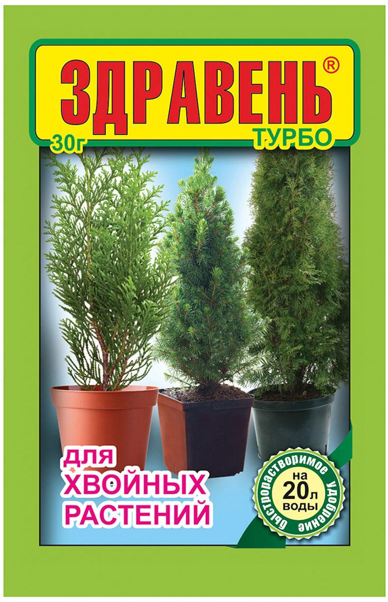 Гарантирует правильное, гармоничное развитие растения, повышает качество, густоту и насыщенность окраски хвои, укрепляет корневую систему.