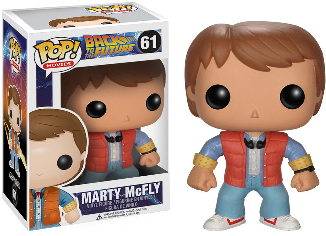 Фигурка Funko POP! Vinyl: BTTF: Marty McFly 3400 marty nachel beer for dummies