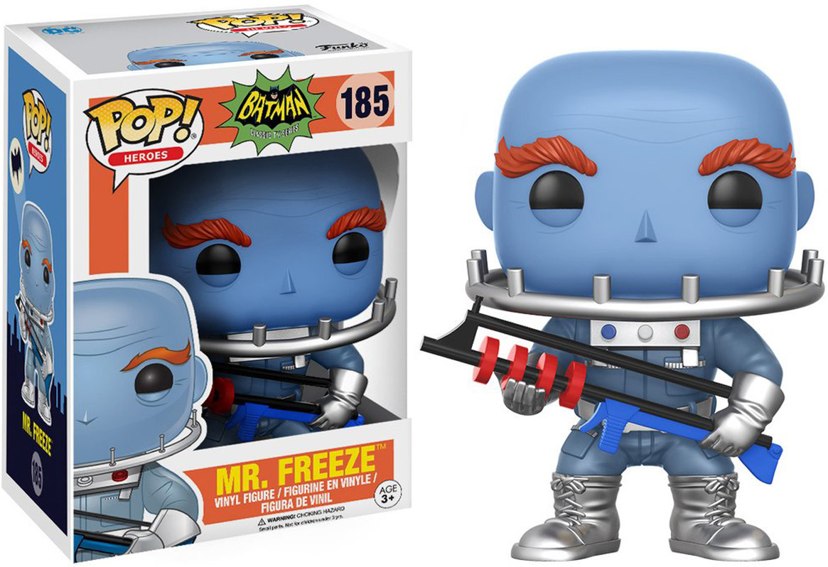 Фигурка Funko POP! Vinyl: DC: Batman 66: Mr. Freeze 13630 фигурка funko pop vinyl dc batman animated btas poison ivy 11575