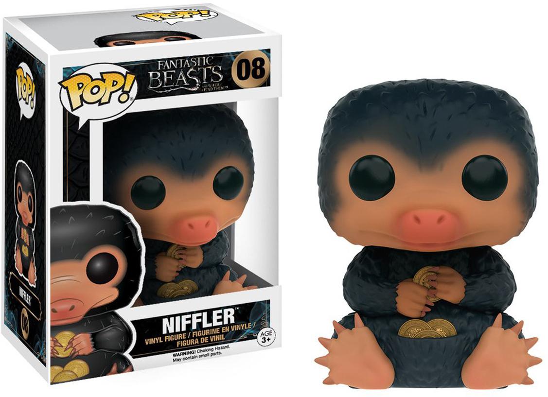 Фигурка Funko POP! Vinyl: Фантастические твари и где они обитают: Niffler 10408 фигурка funko pop bobble marvel black panther nakia