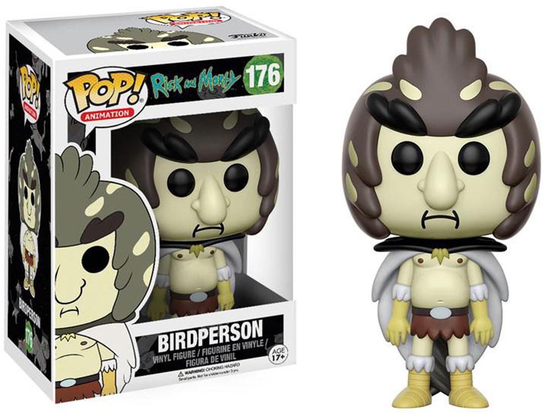 Фигурка Funko POP! Vinyl: Rick & Morty: Birdperson 12443 фигурка funko pop animation rick & morty series 3 scary terry