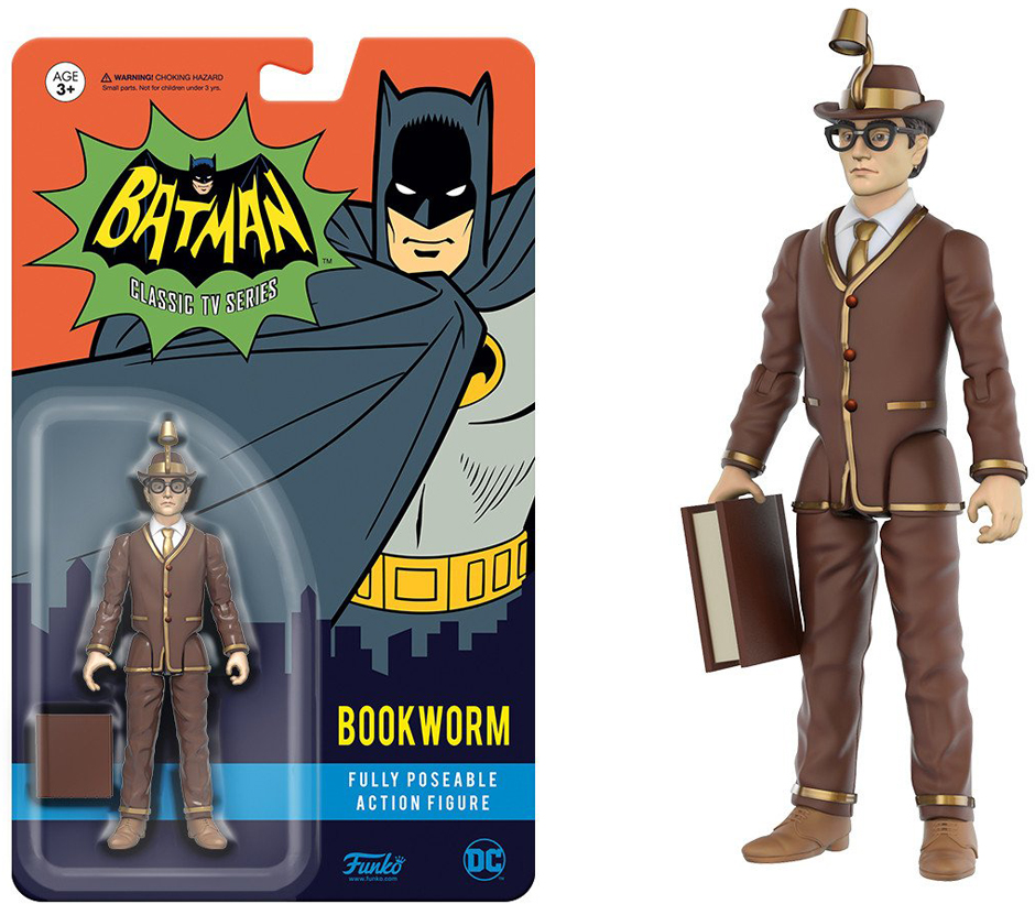 Фигурка Funko Action Figure: DC Heroes: Bookworm 13912 japanese anime one piece original megahouse mh variable action heroes complete action figure dracule mihawk