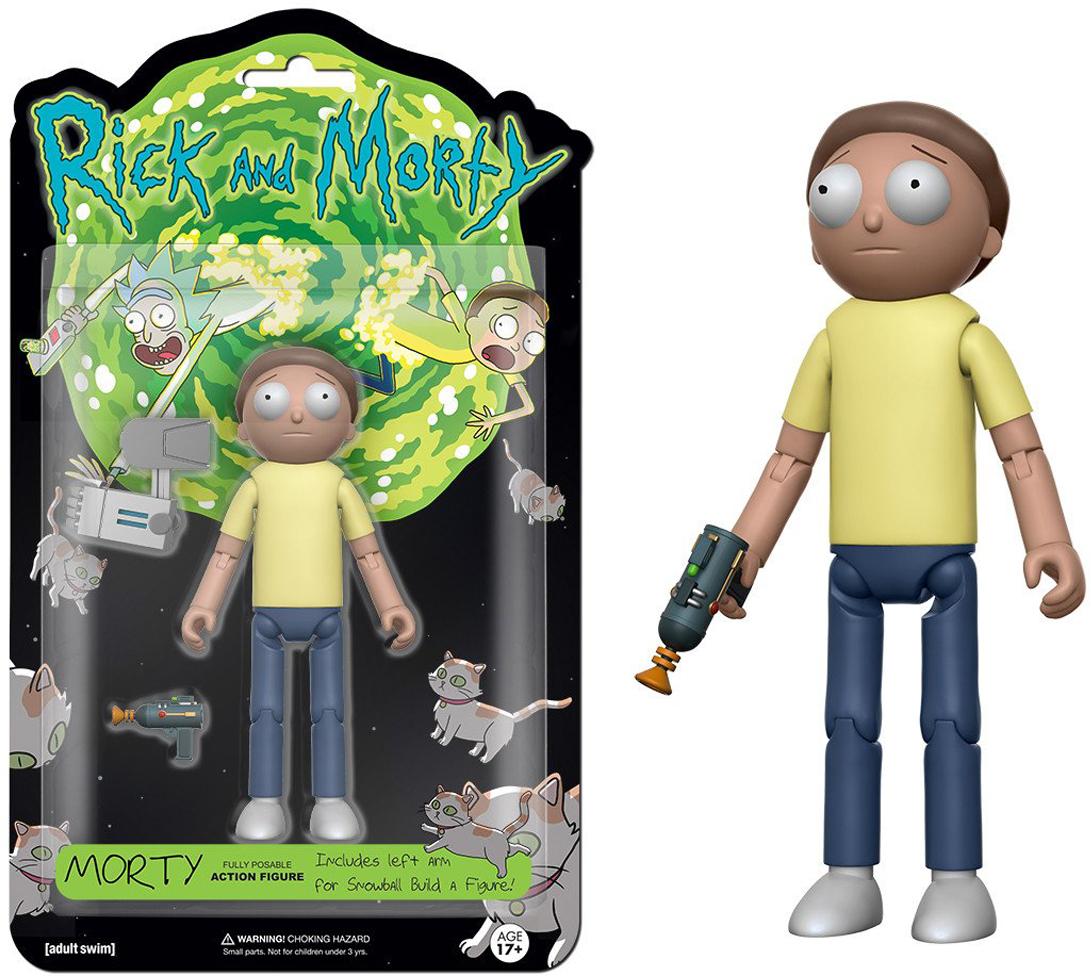 Фигурка Funko Action Figure: Rick & Morty: Morty 12925 фигурка planet of the apes action figure classic gorilla soldier 2 pack 18 см